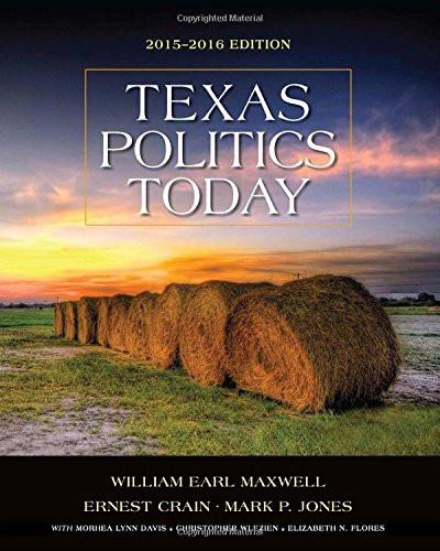 Texas Politics Today Ition