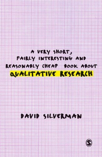 Very Short Fairly Interesting And Reasonably Cheap Book About Qualitative