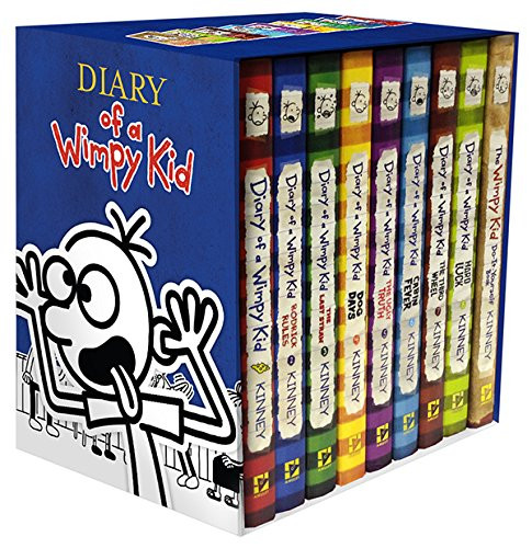 Diary Of A Wimpy Kid Box Of Books 1-8