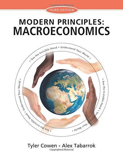Modern Principles Of Macroeconomics