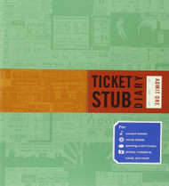 Ticket Stub Diary by Eric Epstein