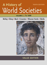 History Of World Societies Volume 1
