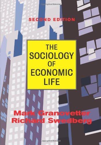 Sociology Of Economic Life