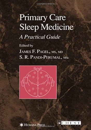 Primary Care Sleep Medicine