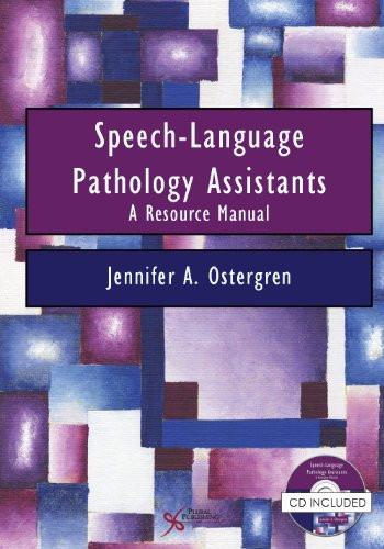Speech-Language Pathology Assistants