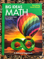 Big Ideas Math   (HOUGHTON MIFFLIN HARCOURT)