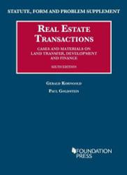 Real Estate Transactions - Gerald Korngold