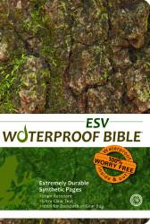 Waterproof Bible Esv Camouflage