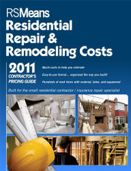 Contractor's Pricing Guide Residential Repair And Remodeling Costs  by RSMeans