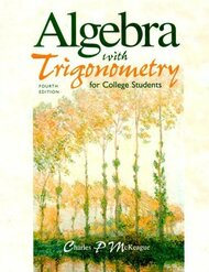 Algebra With Trigonometry For College Students
