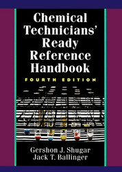 Chemical Technicians' Ready Reference Handbook