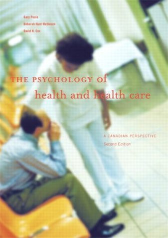 Psychology Of Health And Health Care