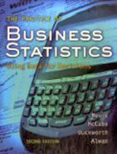 Practice Of Statistics For Business And Economics