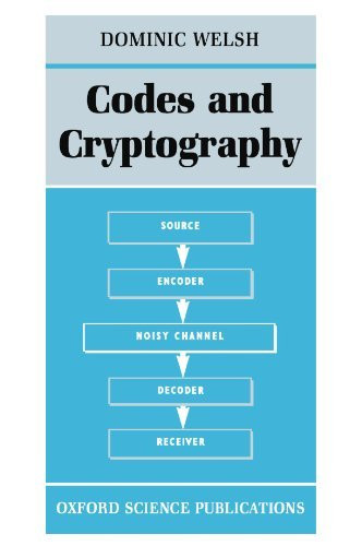 Codes And Cryptography