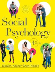 Social Psychology -  Tom Gilovich