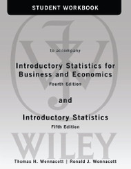 Student Workbook To Accompany Introductory Statistics For Business And Economics