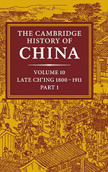 Cambridge History Of China Volume 1