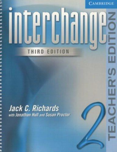 Interchange Level 2 - Teacher's Edition