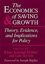 Economics Of Saving And Growth