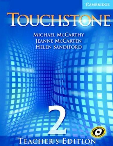 Touchstone Teacher's Edition 2 Teachers Book With Audio Cd