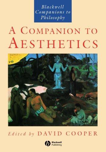 Companion To Aesthetics