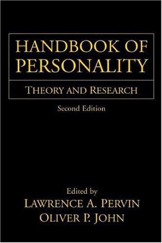 Handbook Of Personality
