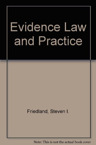 Evidence Law And Practice