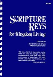 Scripture Keys For Kingdom Living by June Newman Davis