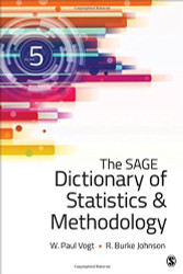 Dictionary Of Statistics And Methodology