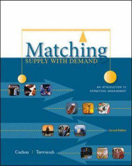Matching Supply With Demand