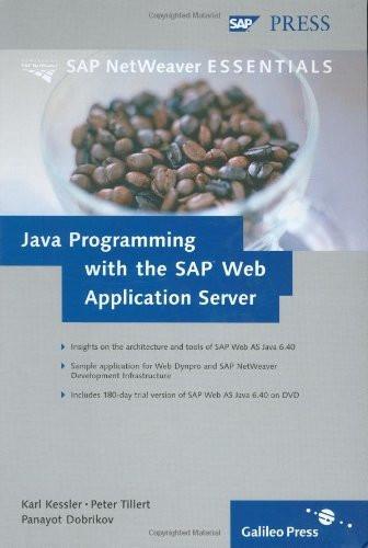 Java Programming With Sap Netweaver