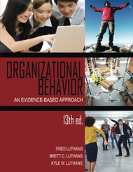 Organizational Behavior An Evidence-Based Approach .