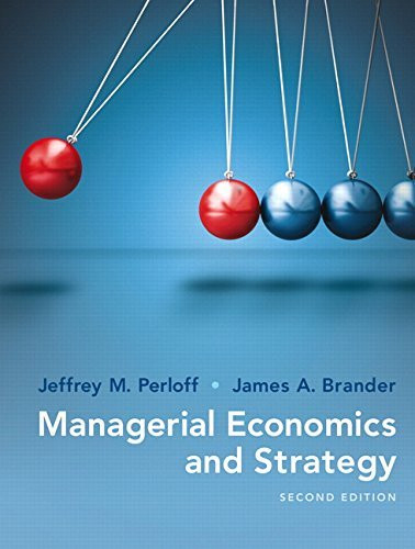 Managerial Economics And Strategy