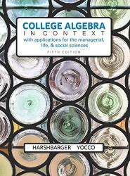 College Algebra In Context