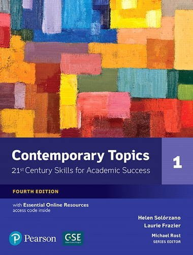 Contemporary Topics 1 Academic Listening & Note-Taking Skills