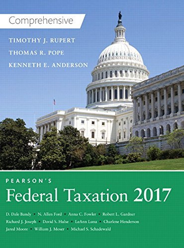 Prentice Hall's Federal Taxation Comprehensive