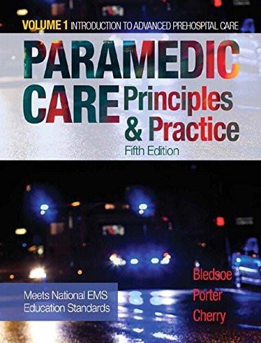 Paramedic Care Volume 1