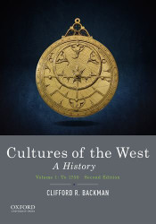 Cultures Of The West Volume 1