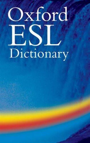 Oxford ESL Dictionary ROM