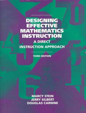Designing Effective Mathematics Instruction