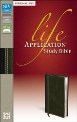 NIV Life Application Study Bible Personal Size Imitation Leather