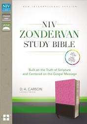 NIV Zondervan Study Bible Imitation Leather Pink/Brown