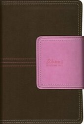 NIV Women's Devotional Bible Compact Imitation Leather Brown/Pink
