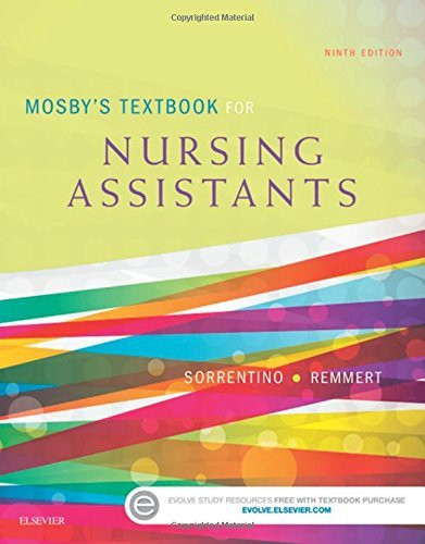 Mosby's Textbook For Nursing Assistants