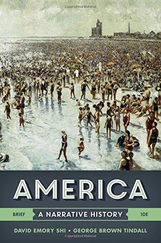 America A Narrative History Brief Edition