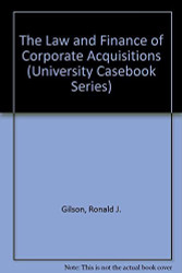 Law And Finance Of Corporate Acquisitions