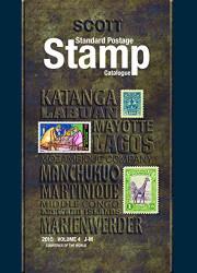 Scott 2015 Standard Postage Stamp Catalogue Volume 4