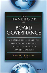 Handbook of Board Governance