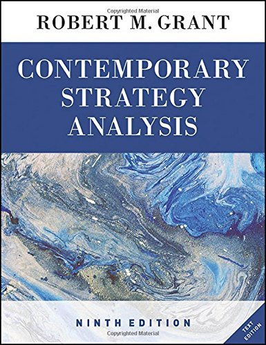 Contemporary Strategy Analysis