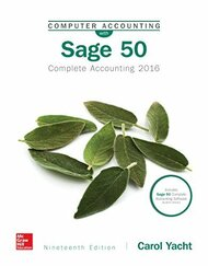 Computer Accounting with Sage
